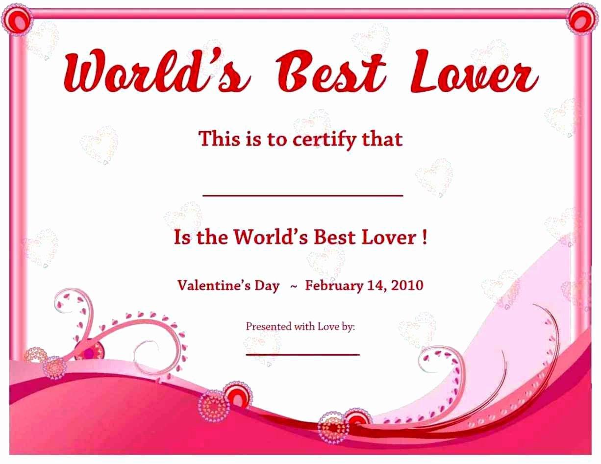 Best Boyfriend Award Certificate Best Of Best Boyfriend Award Certificate Template Update234