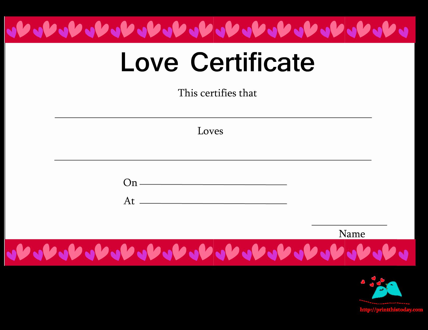 Best Boyfriend Award Printable Unique Free Printable Love Certificates