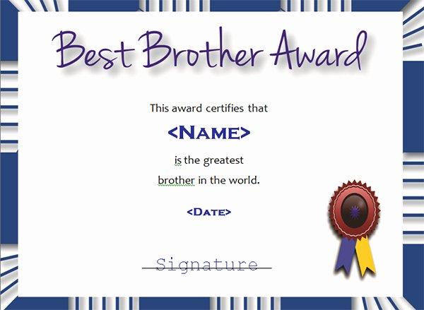 Best Boyfriend Award Template Beautiful Printable Award Certificate Templates