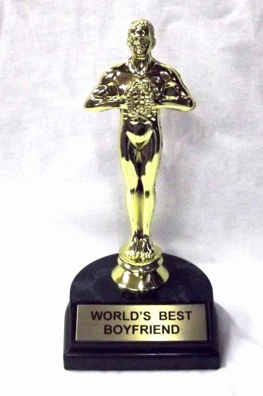 """Best Boyfriend Award Trophy Best Of Amazon World S Best Boyfriend Trophy 7"""" Sports"""