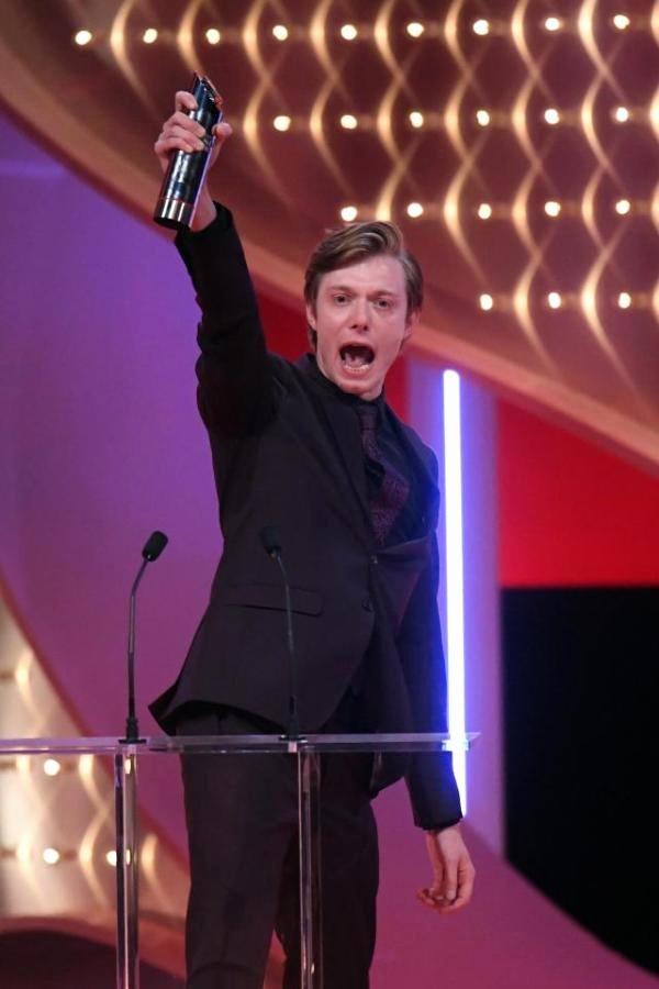 Best Boyfriend Award Trophy Elegant Gay Couple Rob Mallard and Daniel Brocklebank Has Called