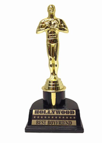 Best Boyfriend Award Trophy Lovely Kandeeland and the Best Boyfriend Award Goes to
