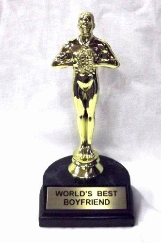 """Best Boyfriend Certificate Template Awesome Awardpedia World S Best Boyfriend Trophy 7"""""""