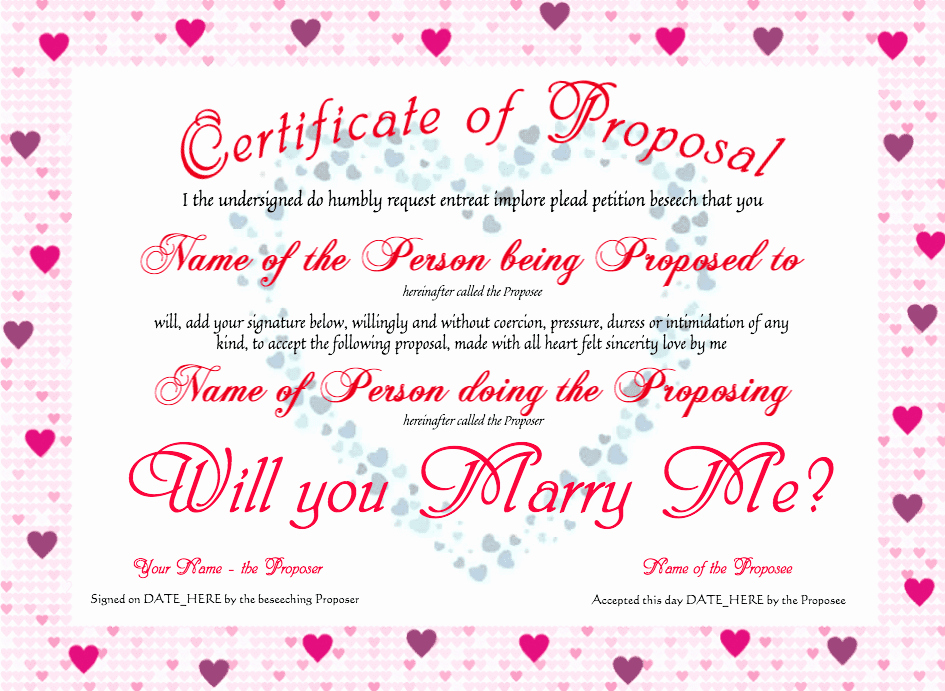 Best Boyfriend Certificate Template New Clevercertificates