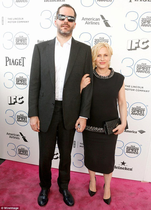 Best Boyfriend Of the Year Award Best Of Patricia Arquette and Boyfriend Eric White Arrive at
