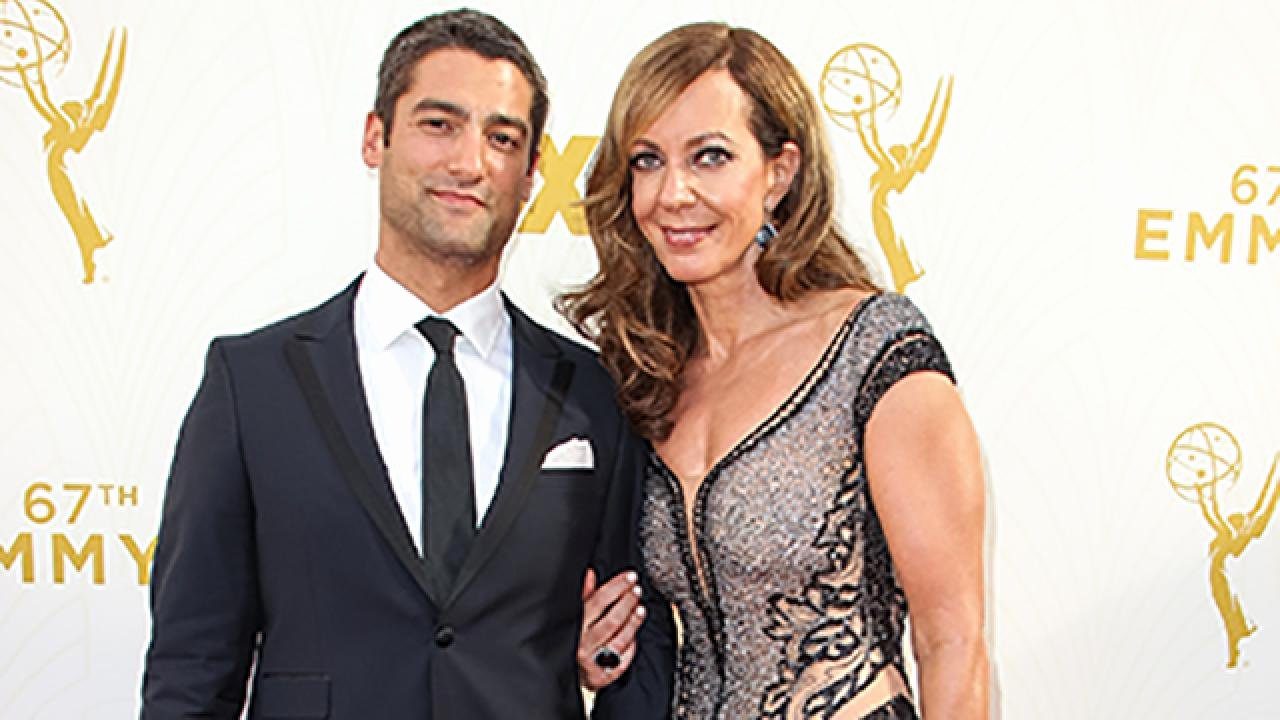 Best Boyfriend Of the Year Award Inspirational Allison Janney 55 Brings Her Hot 35 Year Old Boyfriend