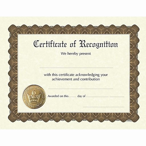 "Best Brother Award Certificate Beautiful Great Papers Recognition Stock Foil Certificate 11"" X 8"