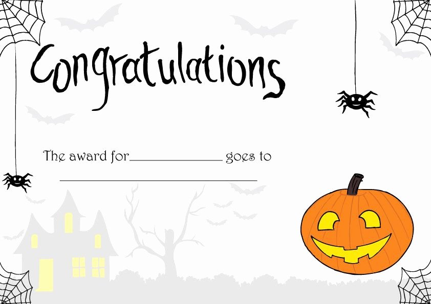 Best Costume Award Template Luxury Pin by Christy Schwenk On Holidays In 2019