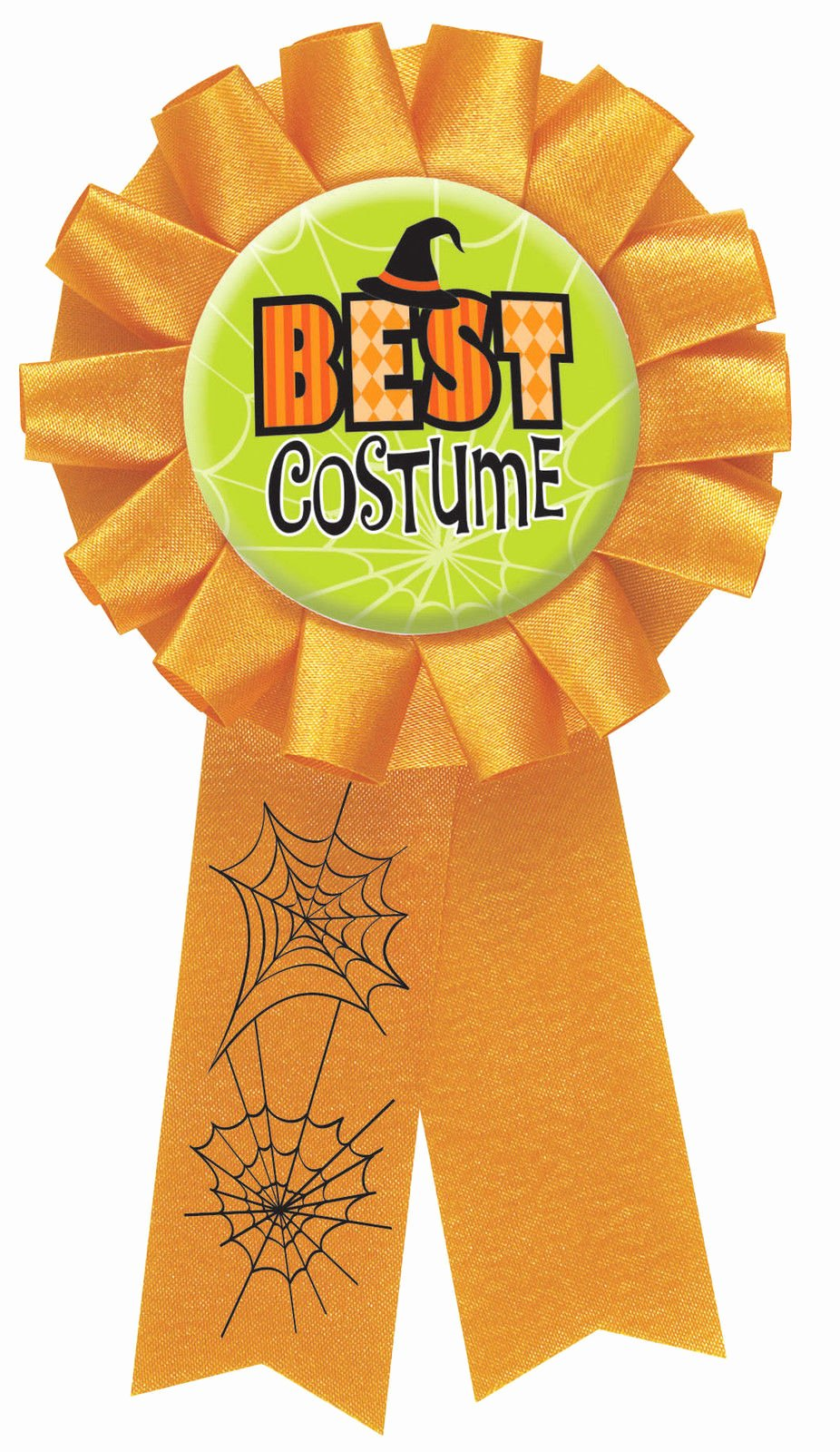 Best Costume Award Template Unique Halloween Party Best Costume Award Rosette Medal Prize