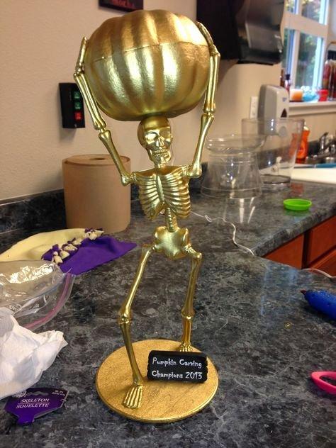 Best Costume Award Trophy Inspirational Halloween Best Costume Pumpkin Carving Contest Trophies