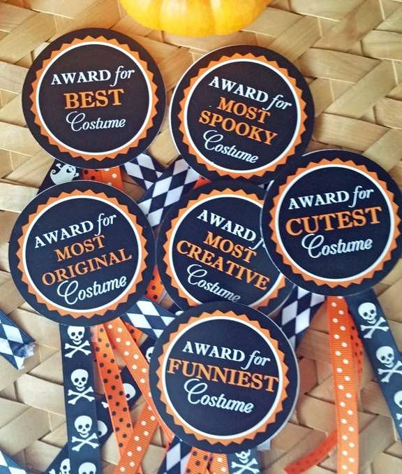Best Costume Award Trophy Lovely Candy Corn Halloween Party Ideas 1 Of 23
