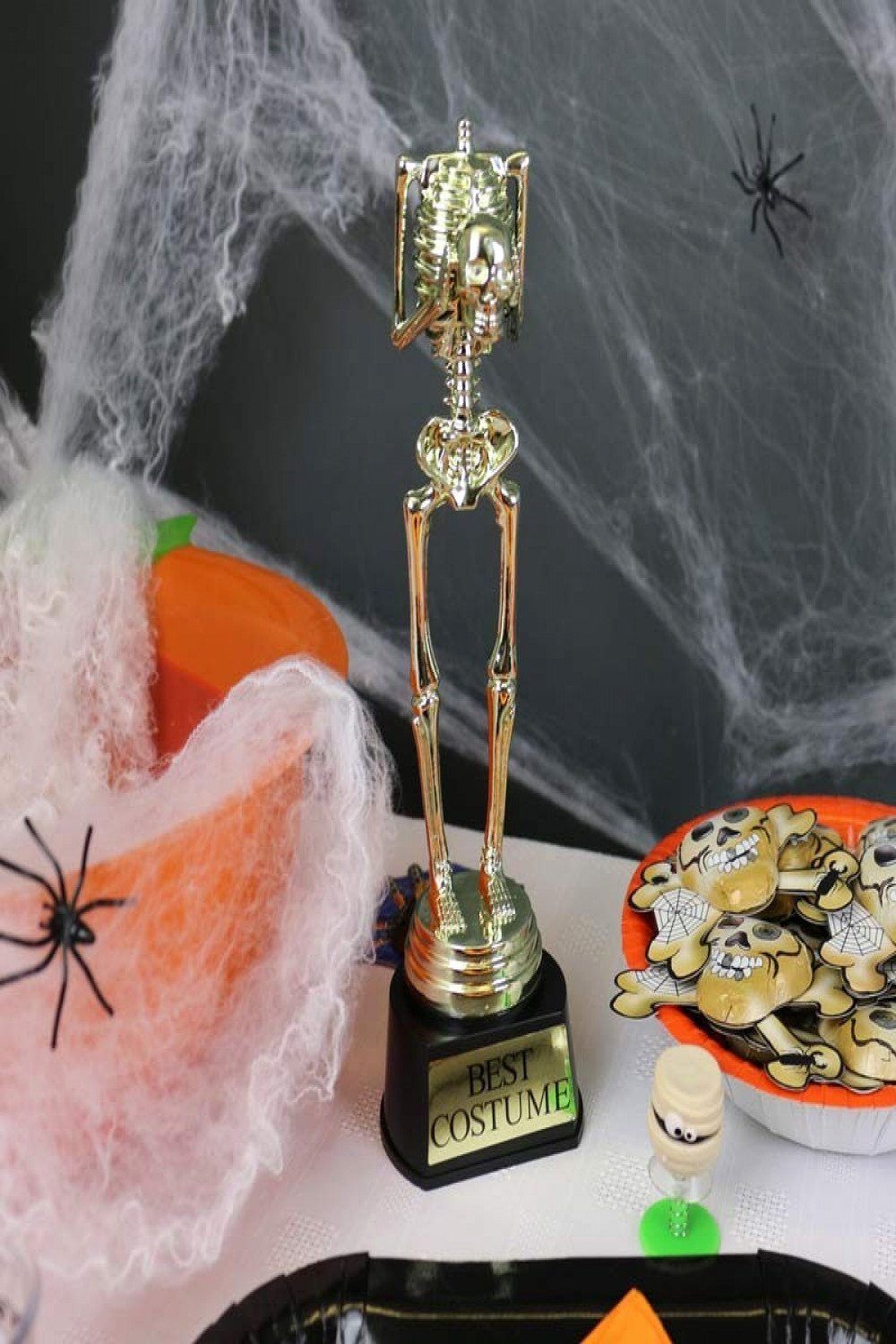 Best Costume Award Trophy New Halloween Trophies and Awards Best Costume Trophy