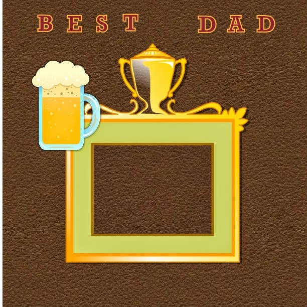 Best Dad Award Printable Inspirational Printable Father S Day Scrapbook Pages Best Dad Award
