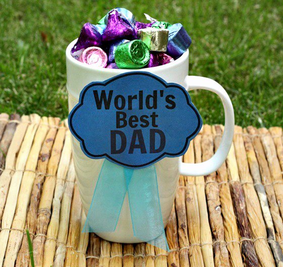 Best Dad Award Printable New Father's Day Worlds Best Dad Award Diy with Free Printable