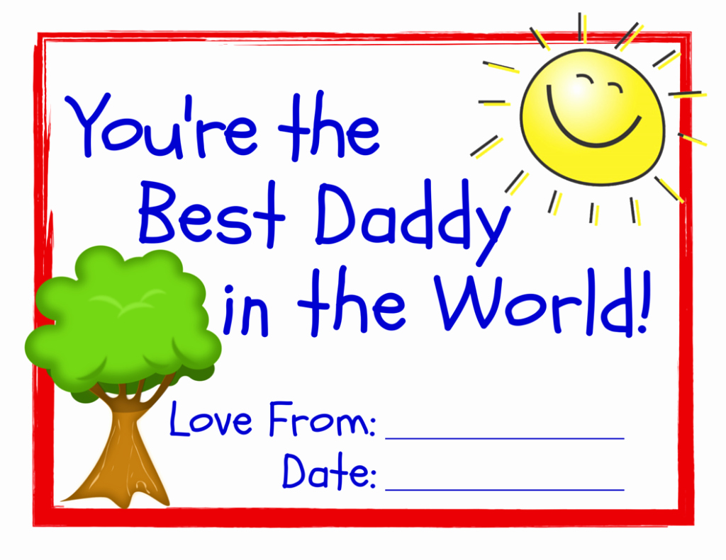 Best Dad Ever Certificate Elegant World S Best Dad 3 Free Printable Certificates for Father