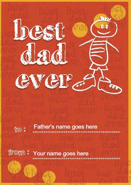 Best Dad Ever Certificate Inspirational Certificate Street Free Award Certificate Templates No