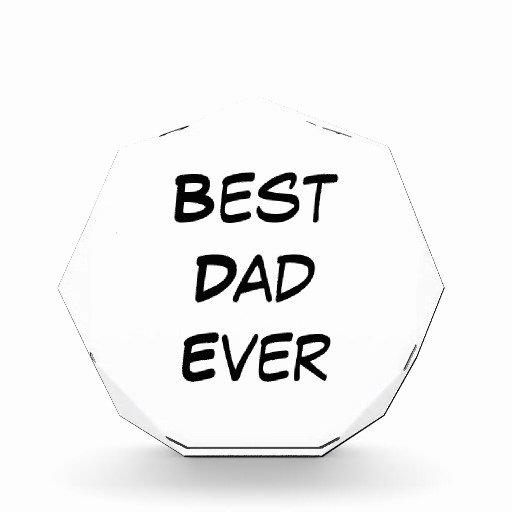Best Dad Ever Certificate Luxury Best Dad Ever Award