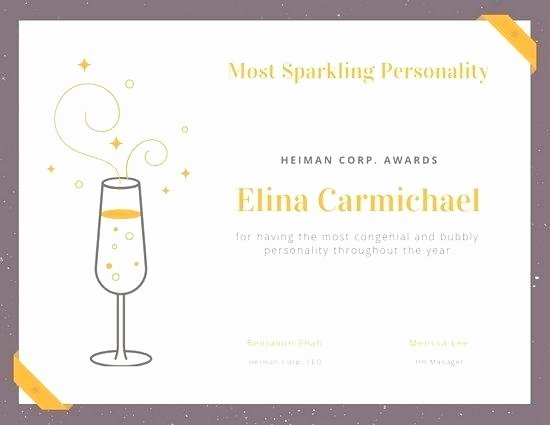 Best Dressed Award Certificate Elegant Best Dressed Award Template – Simplishfo