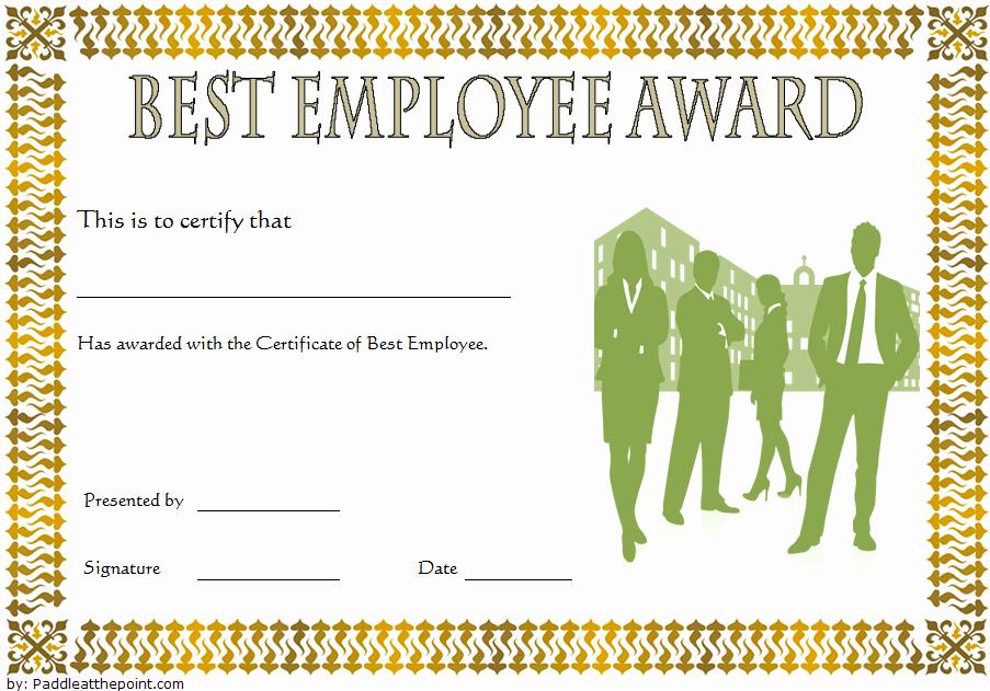 Best Dressed Award Certificate Elegant Best Employee Certificate Template [10 Gorgeous Designs Free]