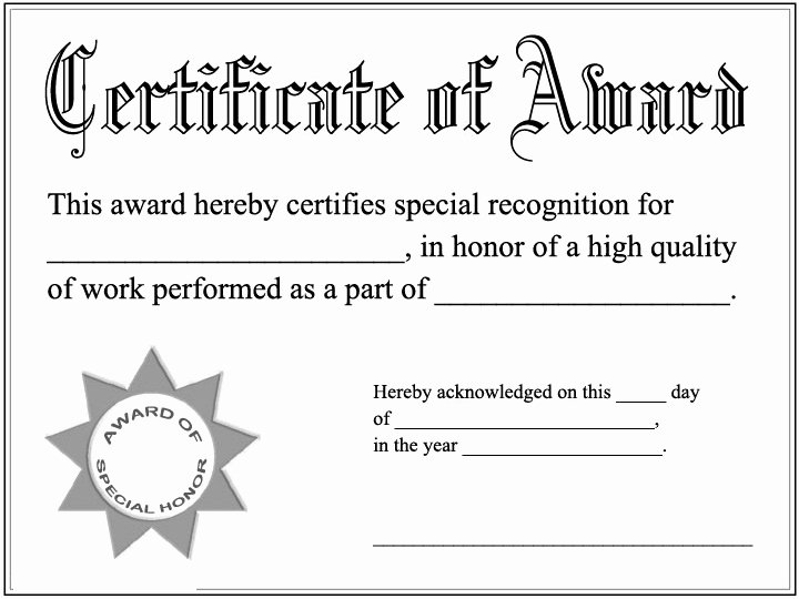 Best Friend Award Certificate Fresh Printable Awards Certificates Diplomas Coloring Pages