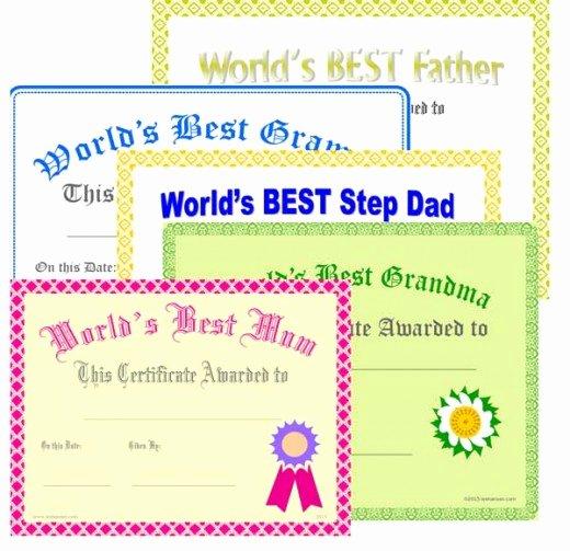 Best Friend Award Certificate Luxury 7 Best Of Free Printable Grandma Awards Best