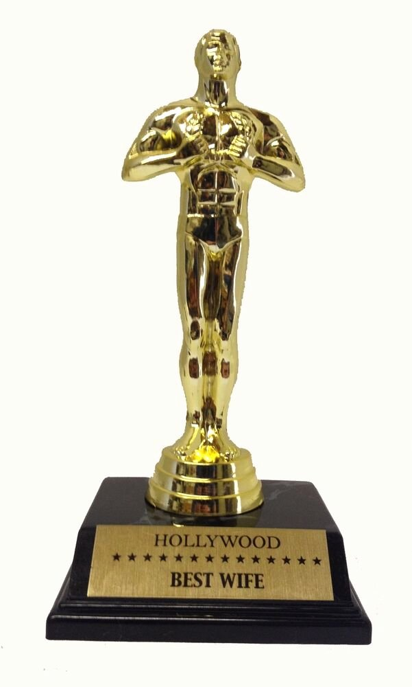 "Best Friend Award Trophy Best Of Best Wife Achievement Trophy Victory Award 7 5"" Trophy"