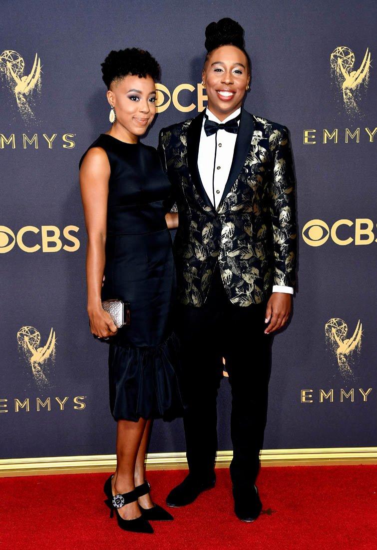 Best Girlfriend Award Trophy Luxury Lena Waithe is Duana S Emmys Best Dressed and Best Prepped