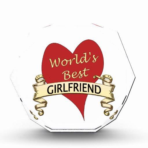 Best Girlfriend Ever Award Elegant World S Best Girlfriend Award