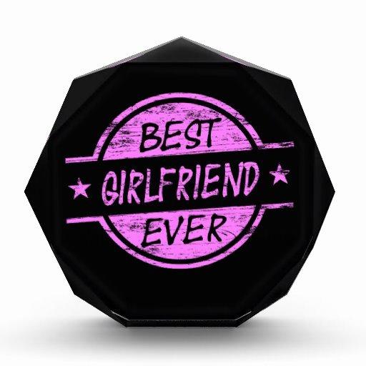 Best Girlfriend Ever Award Fresh Best Girlfriend Ever Pink Award