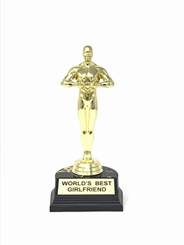 Best Girlfriend Ever Trophy Beautiful Hollywood Best Girlfriend Trophy