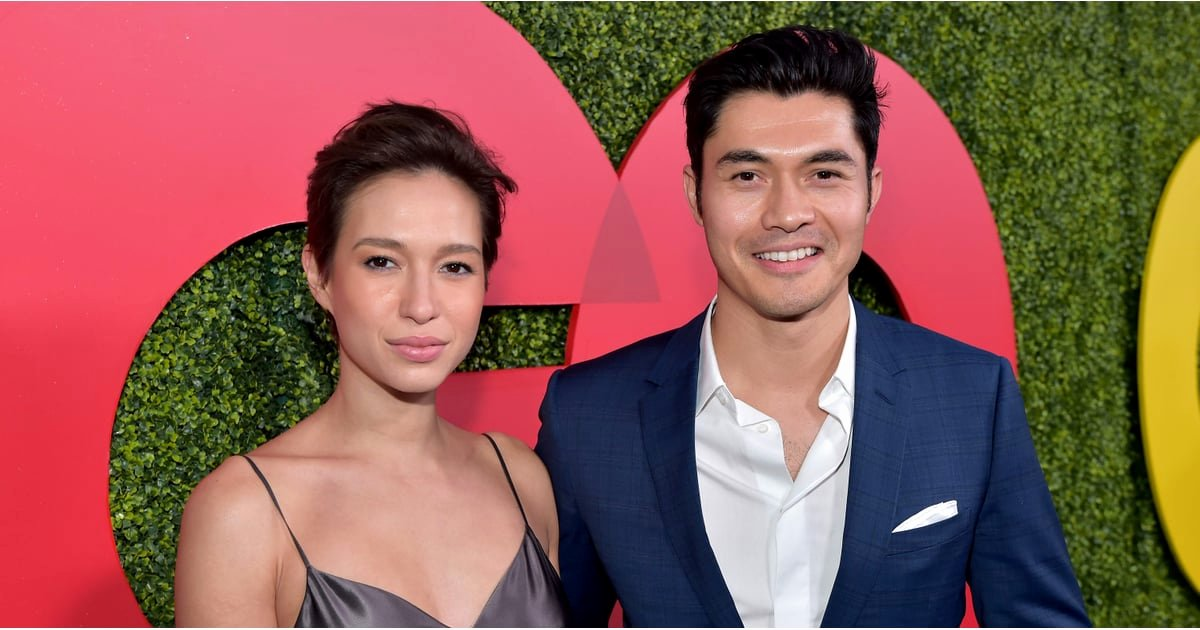 Best Girlfriend Of the Year Award Elegant Henry Golding and Liv Lo at 2018 Gq Men Of the Year Awards