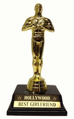 Best Girlfriend Of the Year Award New Oscar Statuette for Your Loved E