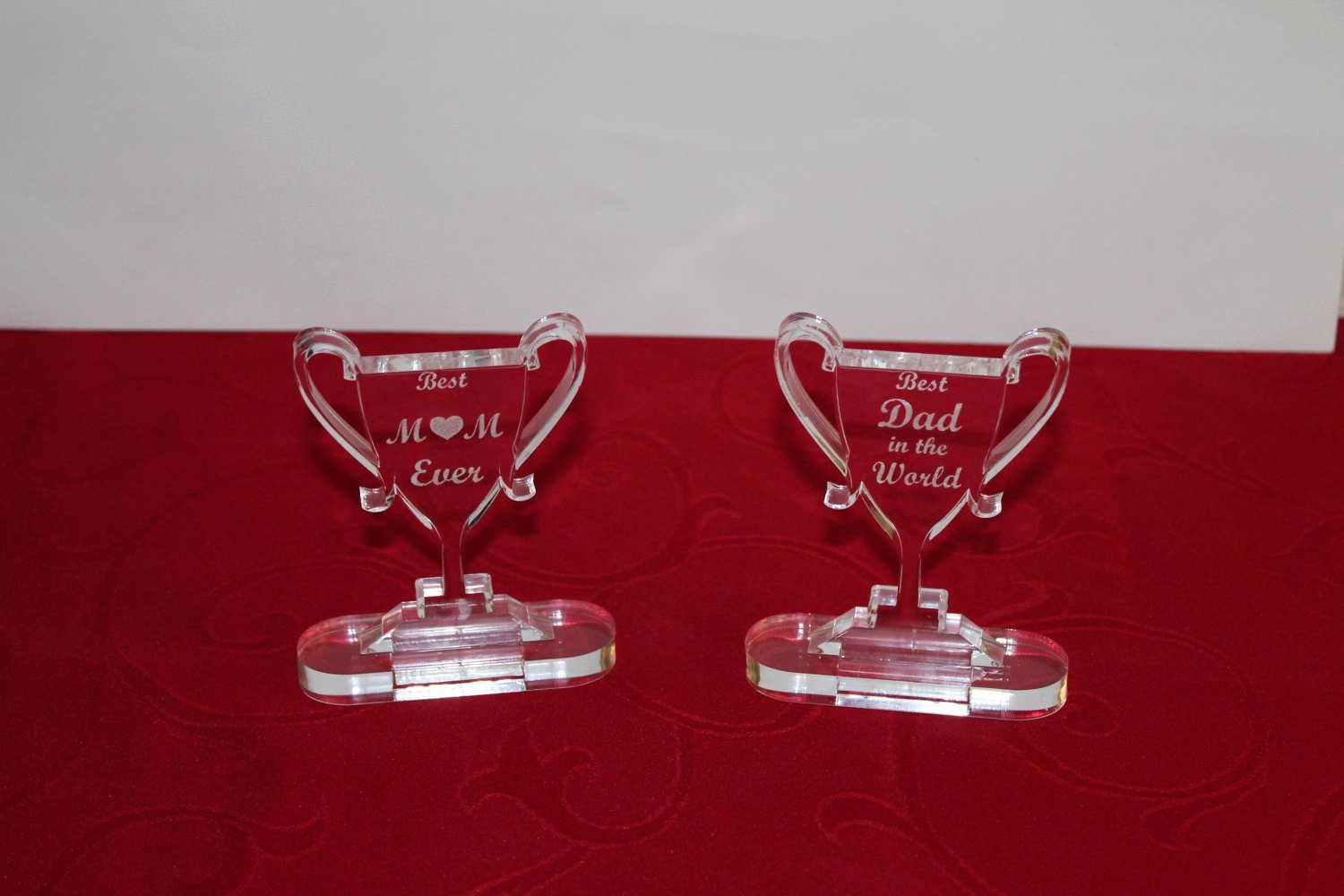 Best Mom Ever Trophy Awesome Personalised Trophy Best Mum Gift for Mum Best Dad Ever