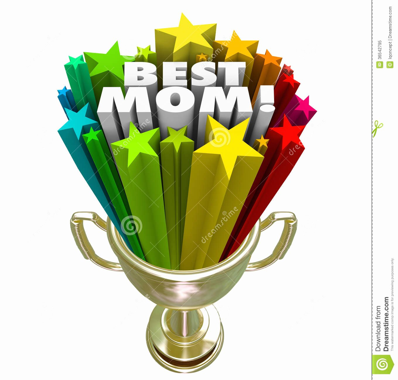 Best Mom In the World Award Luxury Best Mom Prize Trophy Award Worlds Greatest Mother Stock