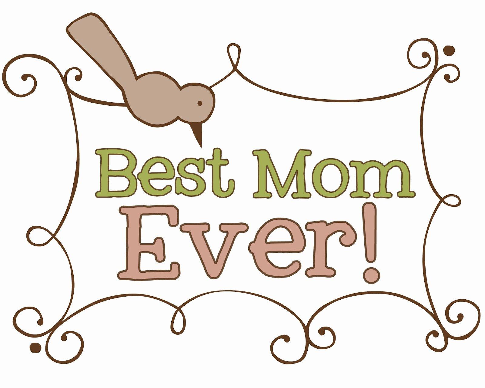 Best Mom In the World Award Luxury button Flower Bouquet