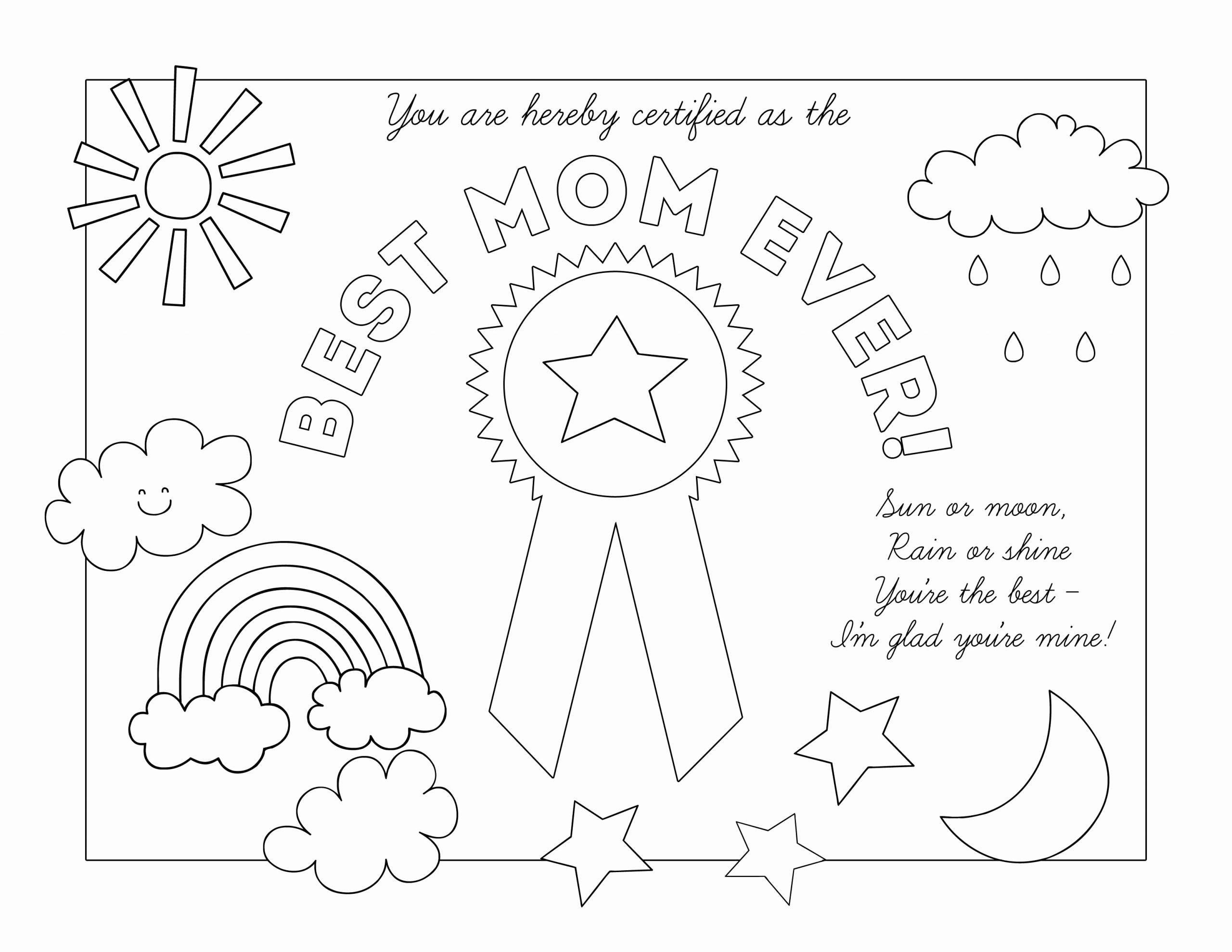 Best Mother Award Certificate Beautiful Mother's Day Certificates – the Gospel Home
