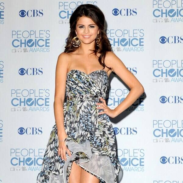 Best Person Ever Award Elegant Selena Gomez From Best Dressed Ever at the People S Choice