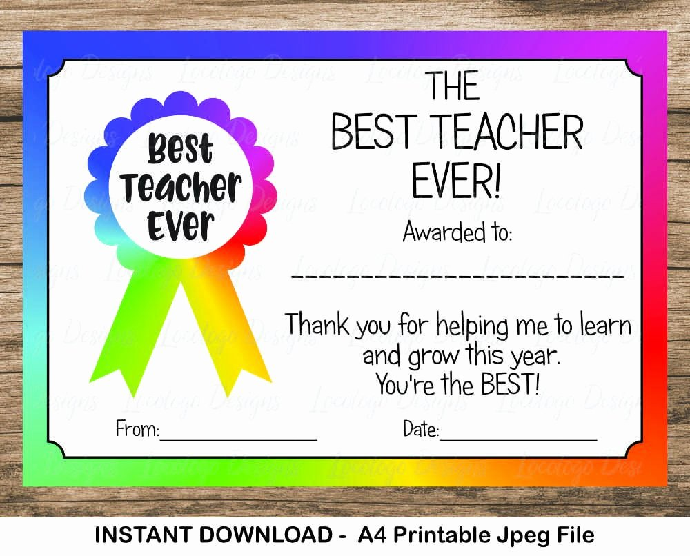 Best Teacher Award Certificate Best Of Pin by Marelize Jooste On Designs