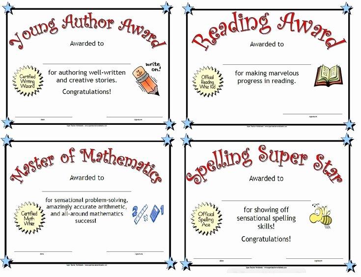 Best Teacher Award Printables New 27 Best Award Certificates Images On Pinterest