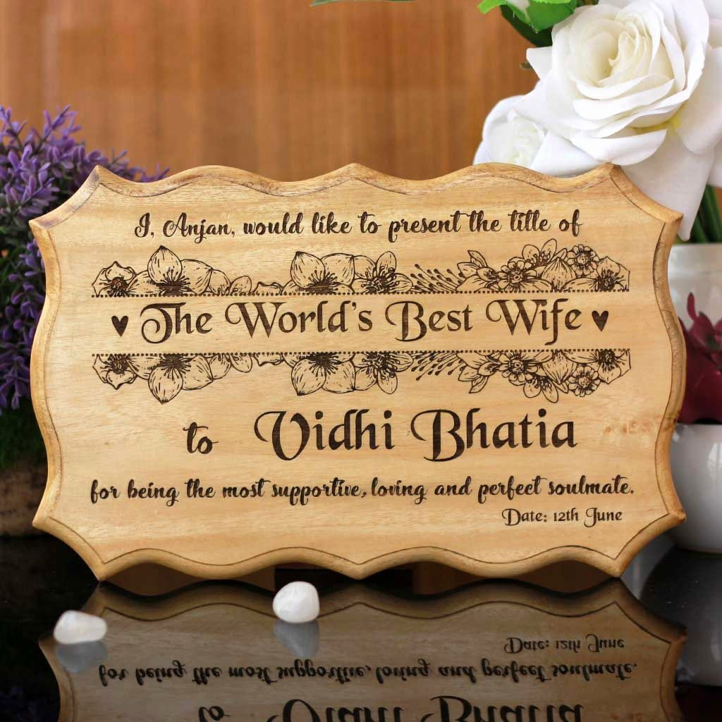 Best Wife Ever Award Awesome Personalized World S Best Wife Certificate & Award Best