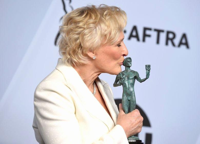 Best Wife Ever Award Best Of Best Actress Oscar Frontrunner Glenn Close is History's