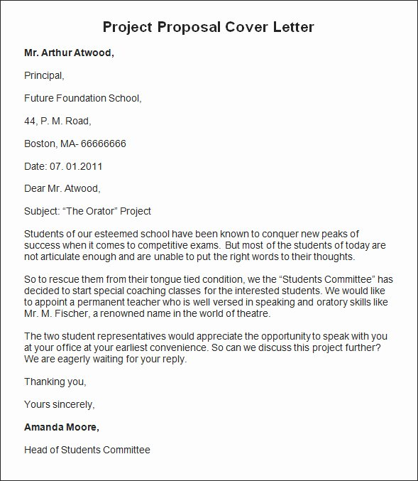 Bid Proposal Letter Elegant Custom Writing Pany Responsibility by Sample Project