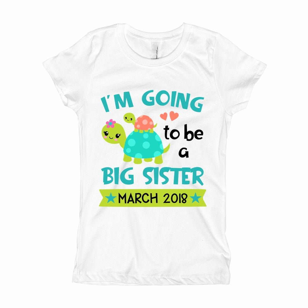 Big Sister Certificate Template Elegant I M Going to Be A Big Sister Shirt Pregnancy Baby