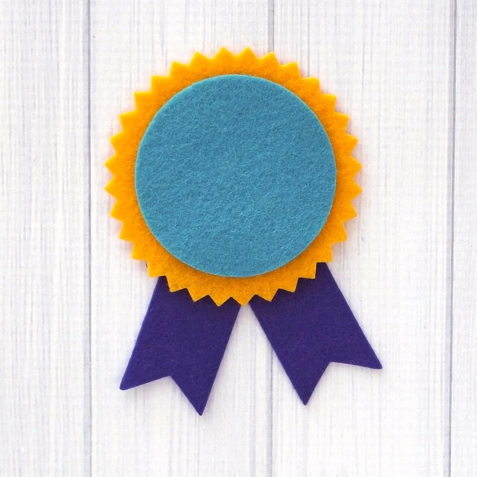 Big Sister Certificate Template Luxury Diy Award Ribbon Felt Die Cuts 16 Pieces