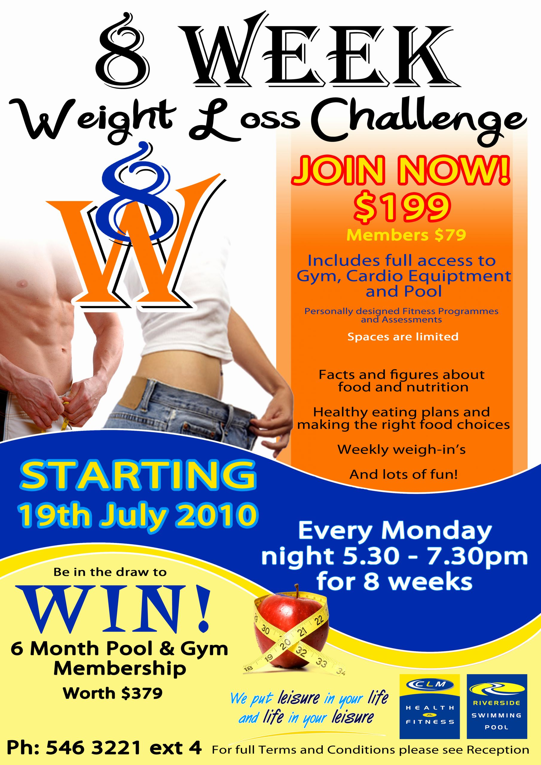 Biggest Loser Certificate Template Awesome 27 Of Weight Loss Challenge Flyer Template