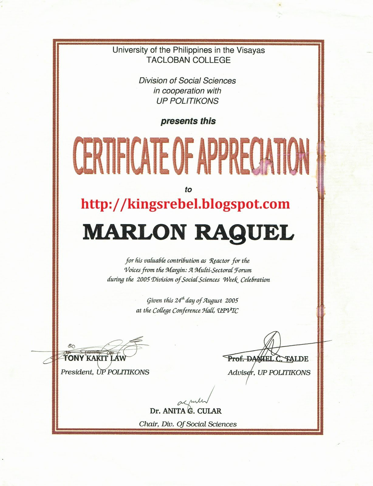 Biggest Loser Certificate Template Best Of Certificate Appreciation Template Guest Speaker