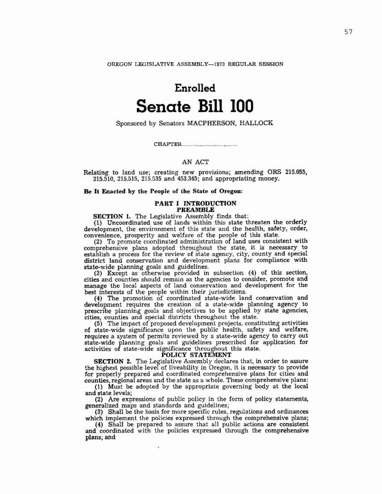 Bill format Congress Beautiful Senate Bill 100