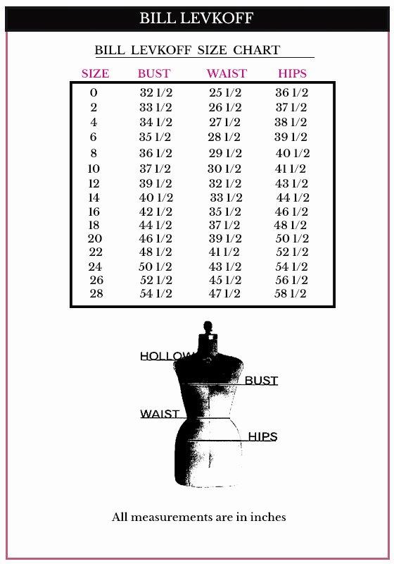 Bill Levkoff Size Chart Best Of Bill Levkoff Bridesmaid Dresses Bill Levkoff 1178 Bill