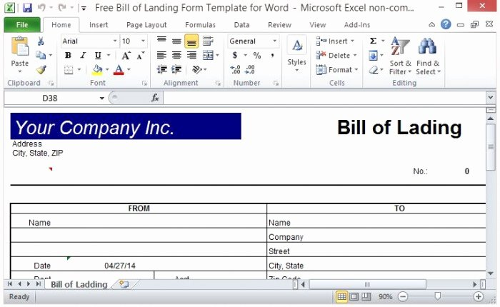 Bill Of Lading Short form Template Inspirational Bill Of Lading forms Templates In Word and Pdf Excel
