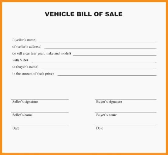 Bill Of Sale for Car In Alabama Beautiful top 40 astounding Alabama Bill Sale Printable
